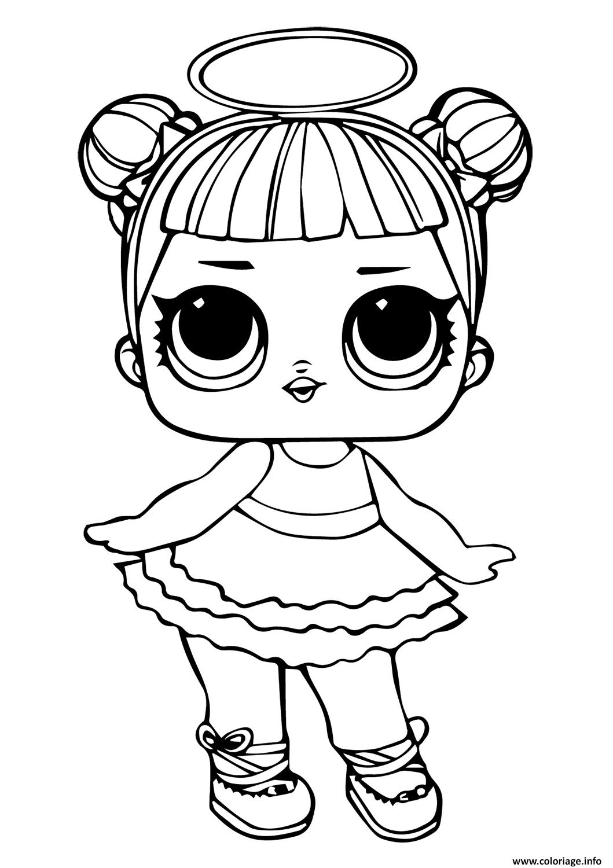 Coloriage Lol Doll Sugar dessin