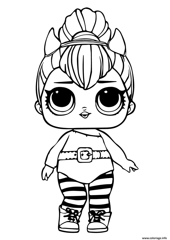 Coloriage Lol Doll Spice Dessin Lol Surprise à imprimer