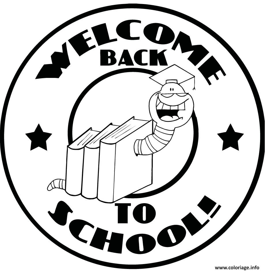 Dessin etampe rentree scolaire Coloriage Gratuit à Imprimer