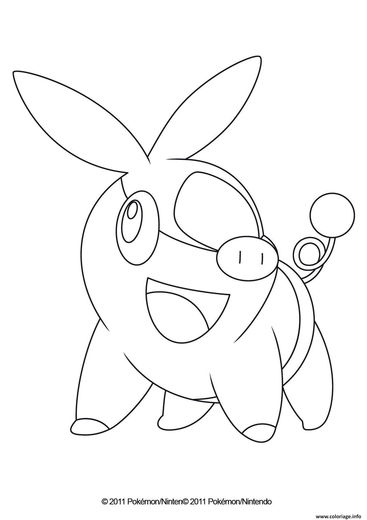 Coloriage Gruikui Pokemon Dessin