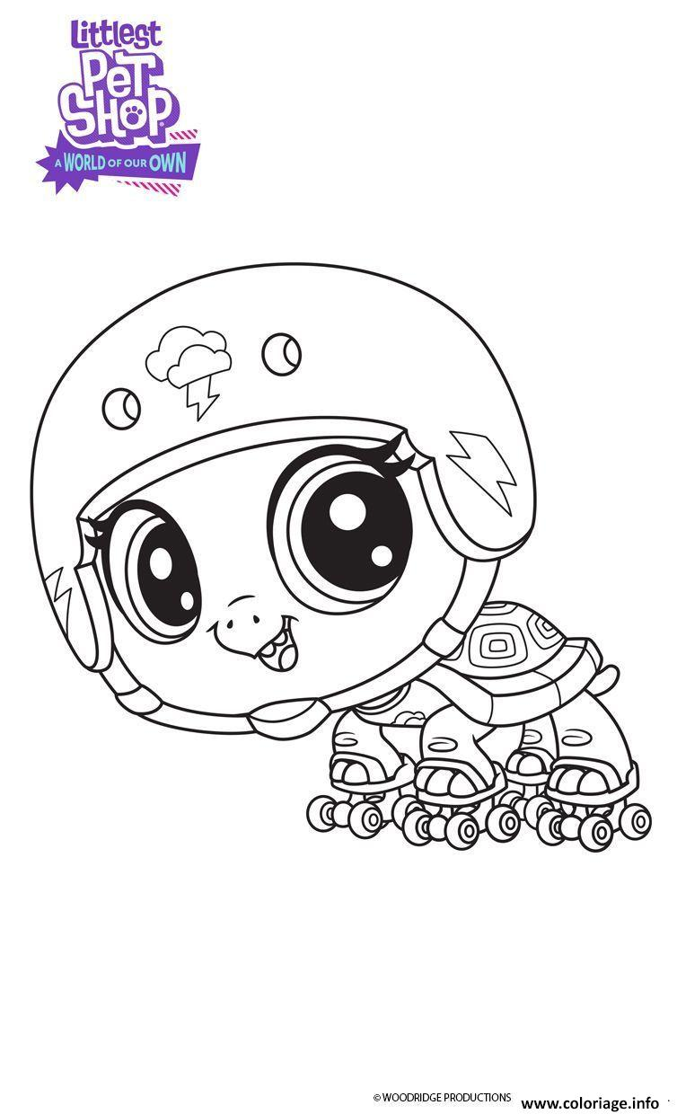 Coloriage Bev Littlest Pet Shop Dessin à Imprimer