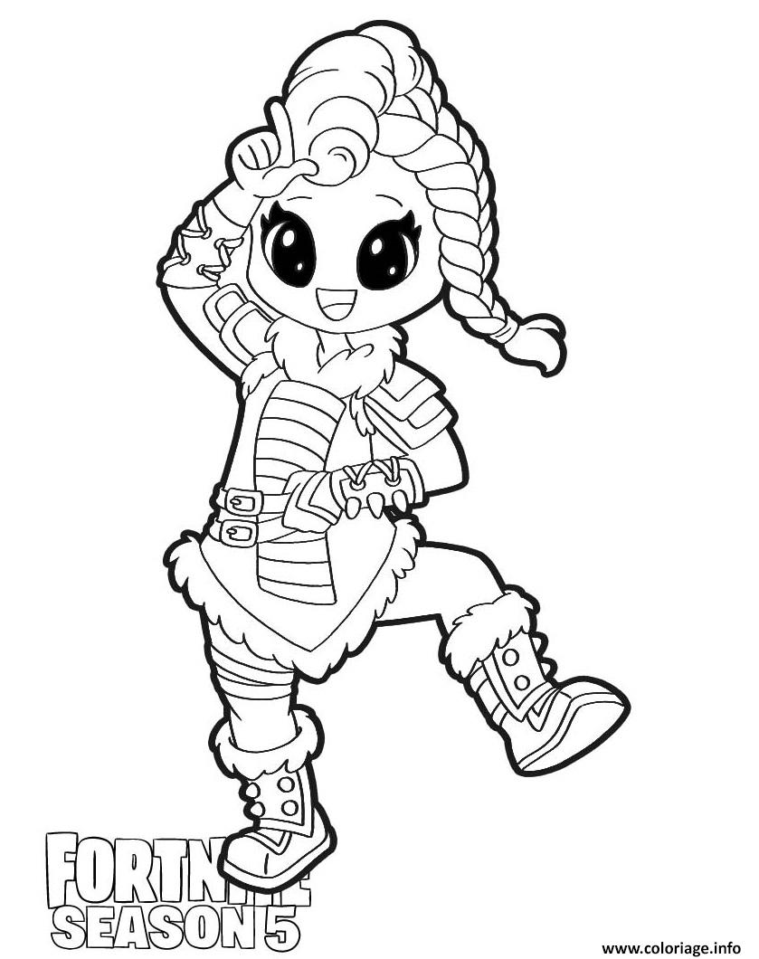 Dessin Huntress Fortnite Season 5 Coloriage Gratuit à Imprimer