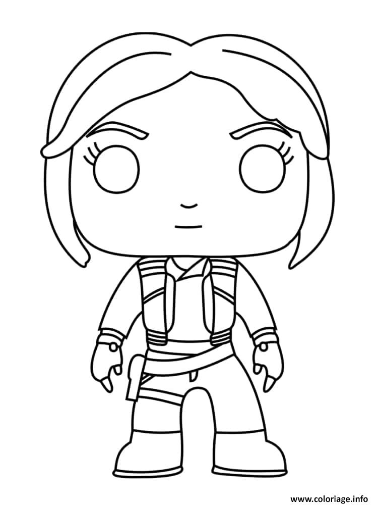 Coloriage Rey Fictional Character dessin