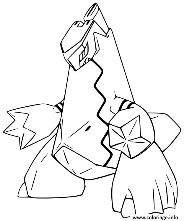 Coloriage Pokemon Epee Et Bouclier Duralugon Jecolorie Com