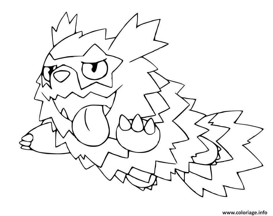 Coloriage Pokemon Epee Et Bouclier Formes De Galar Zigzaton De