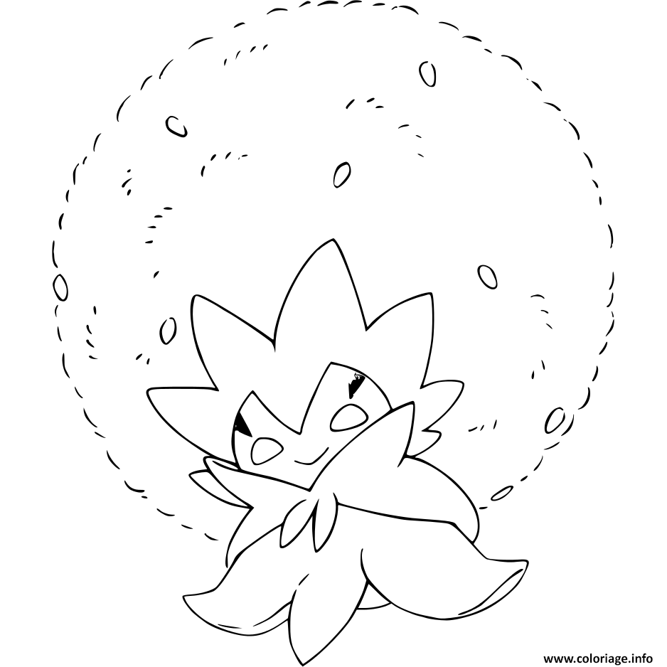Coloriage Pokemon Epee Et Bouclier Blancoton Dessin