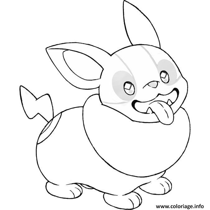 Coloriage Pokemon Epee Et Bouclier Voltoutou Jecolorie Com