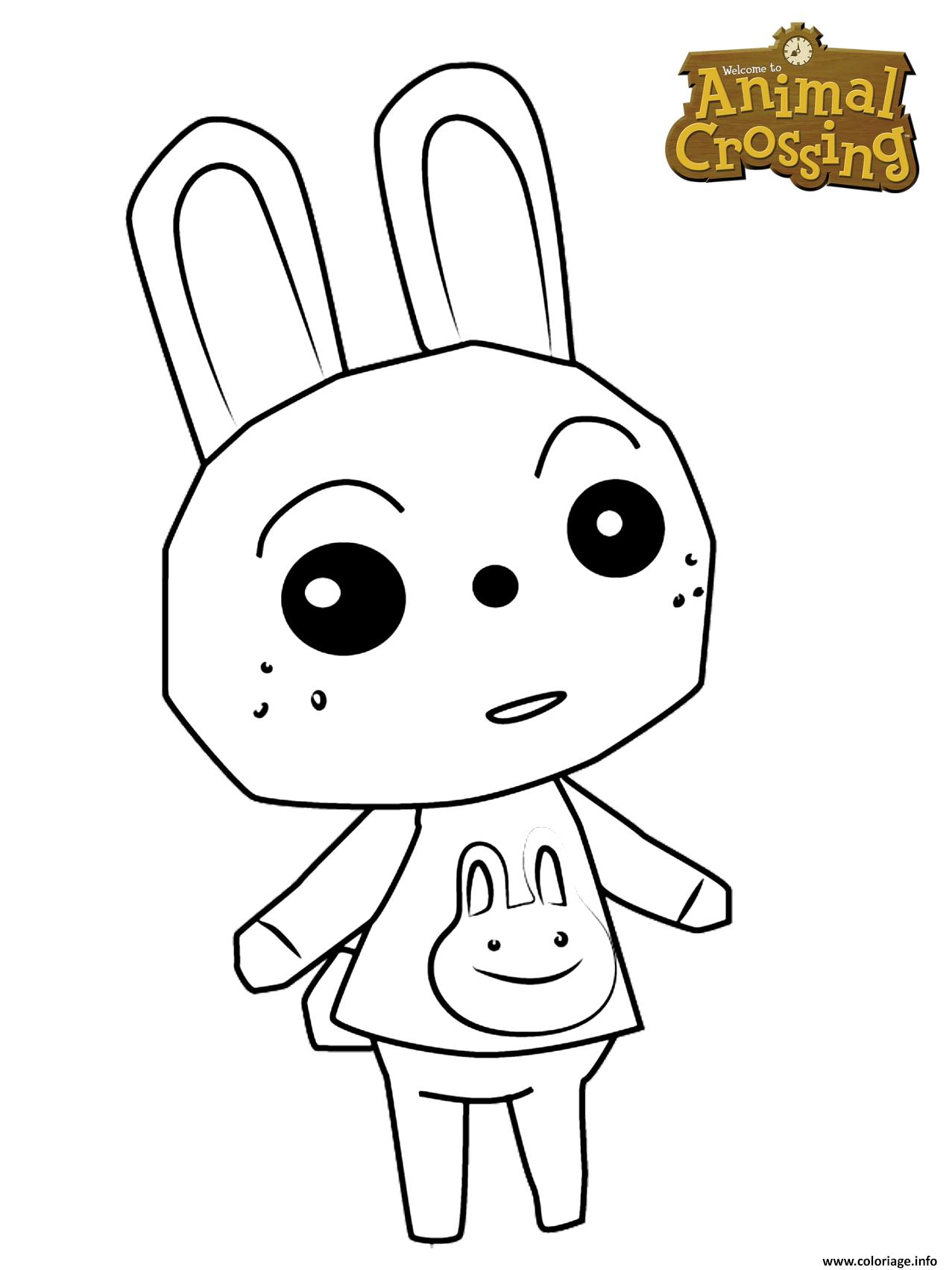 Dessin ruby the rabbit Coloriage Gratuit à Imprimer