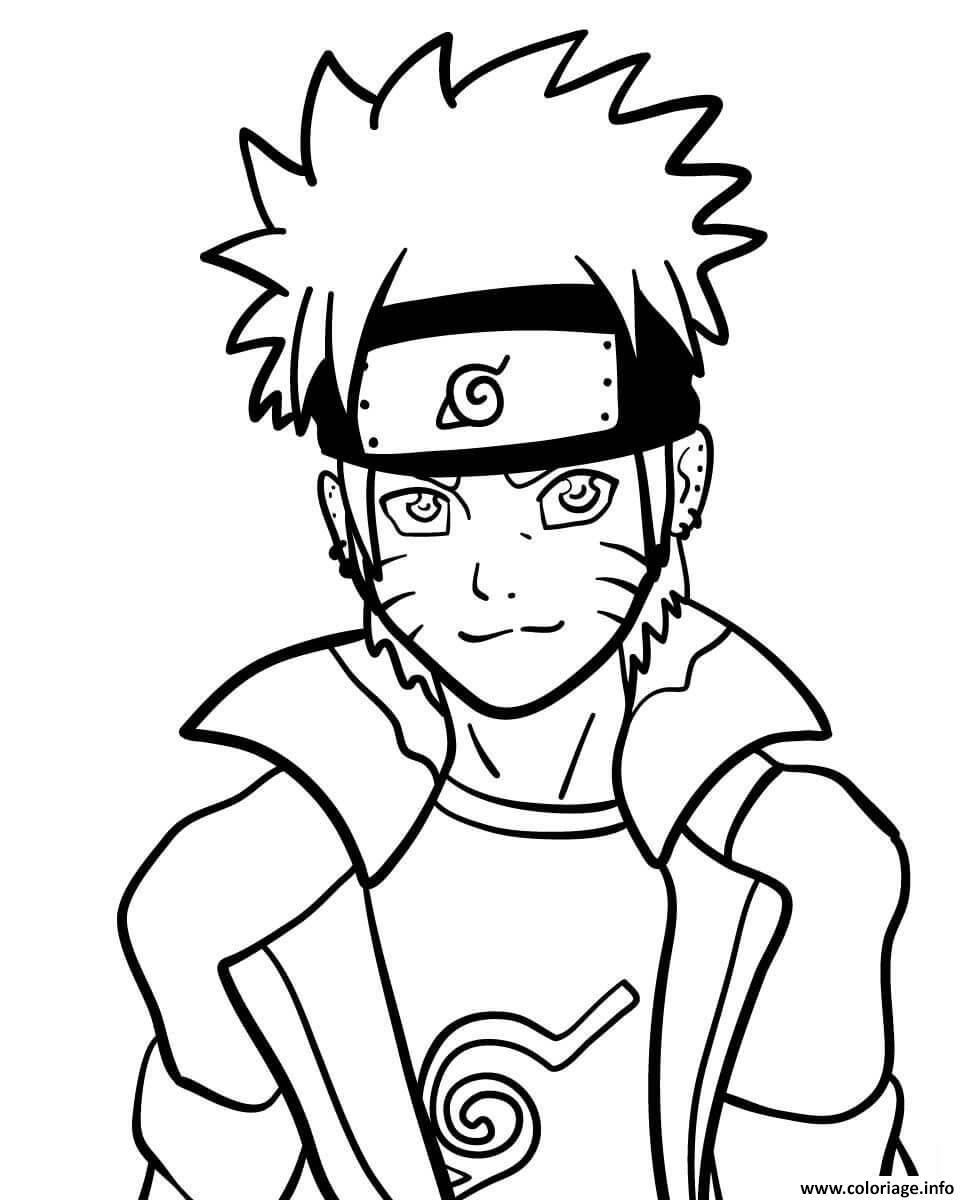 Coloriage Naruto Dessin Naruto à imprimer