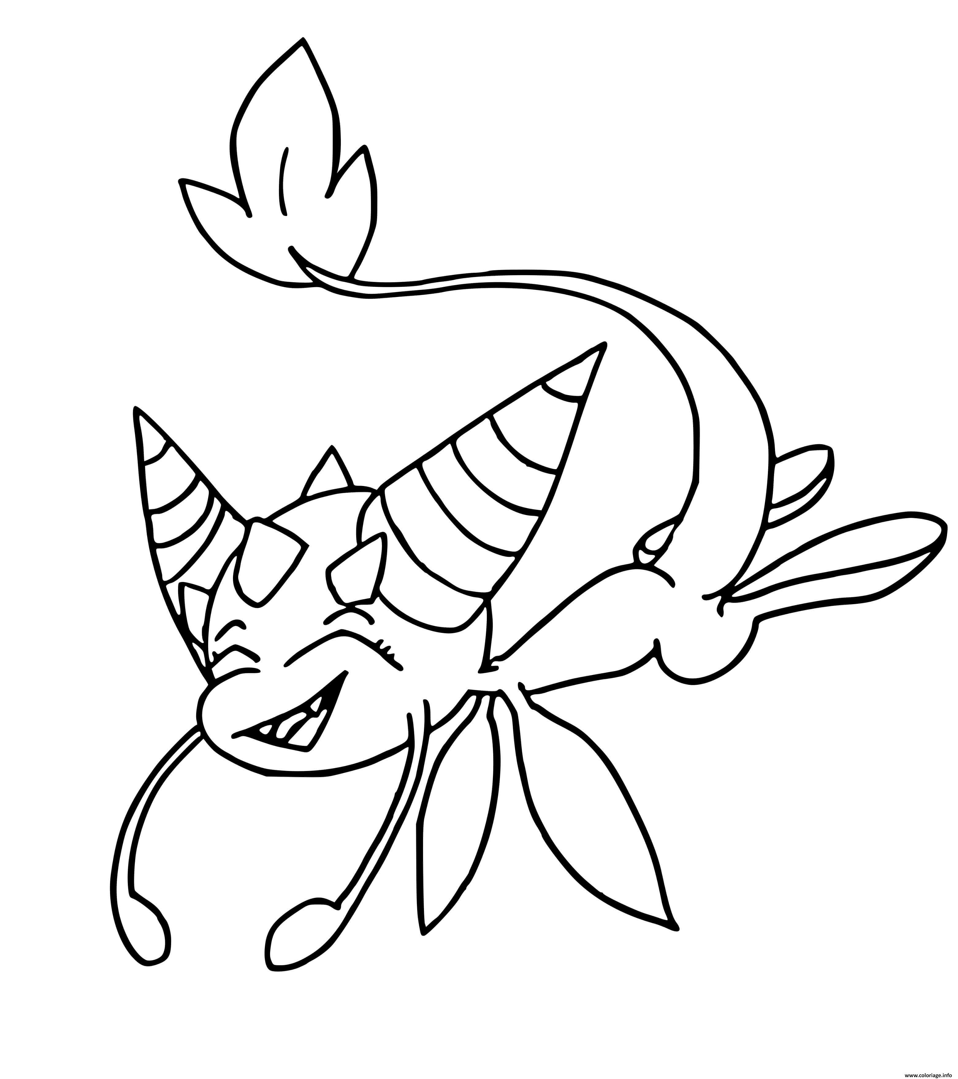 Coloriage Dragon Kwami Jecolorie Com