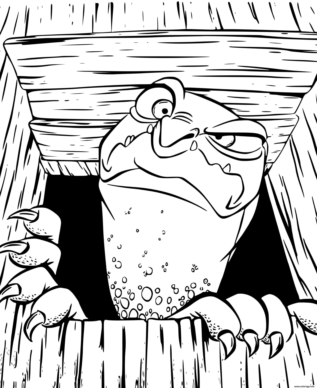 Dessin tortue qui se reposait dans sa maison Coloriage Gratuit à Imprimer