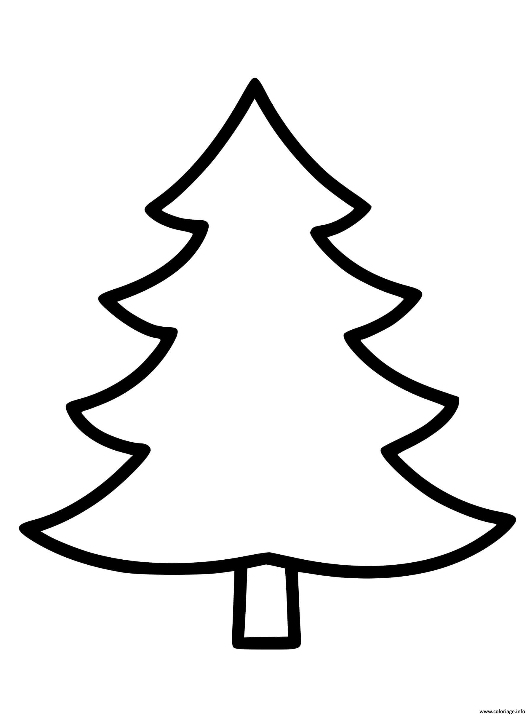 Coloriage Sapin Vierge A Completer Pour Maternelle Dessin Noel Maternelle A Imprimer