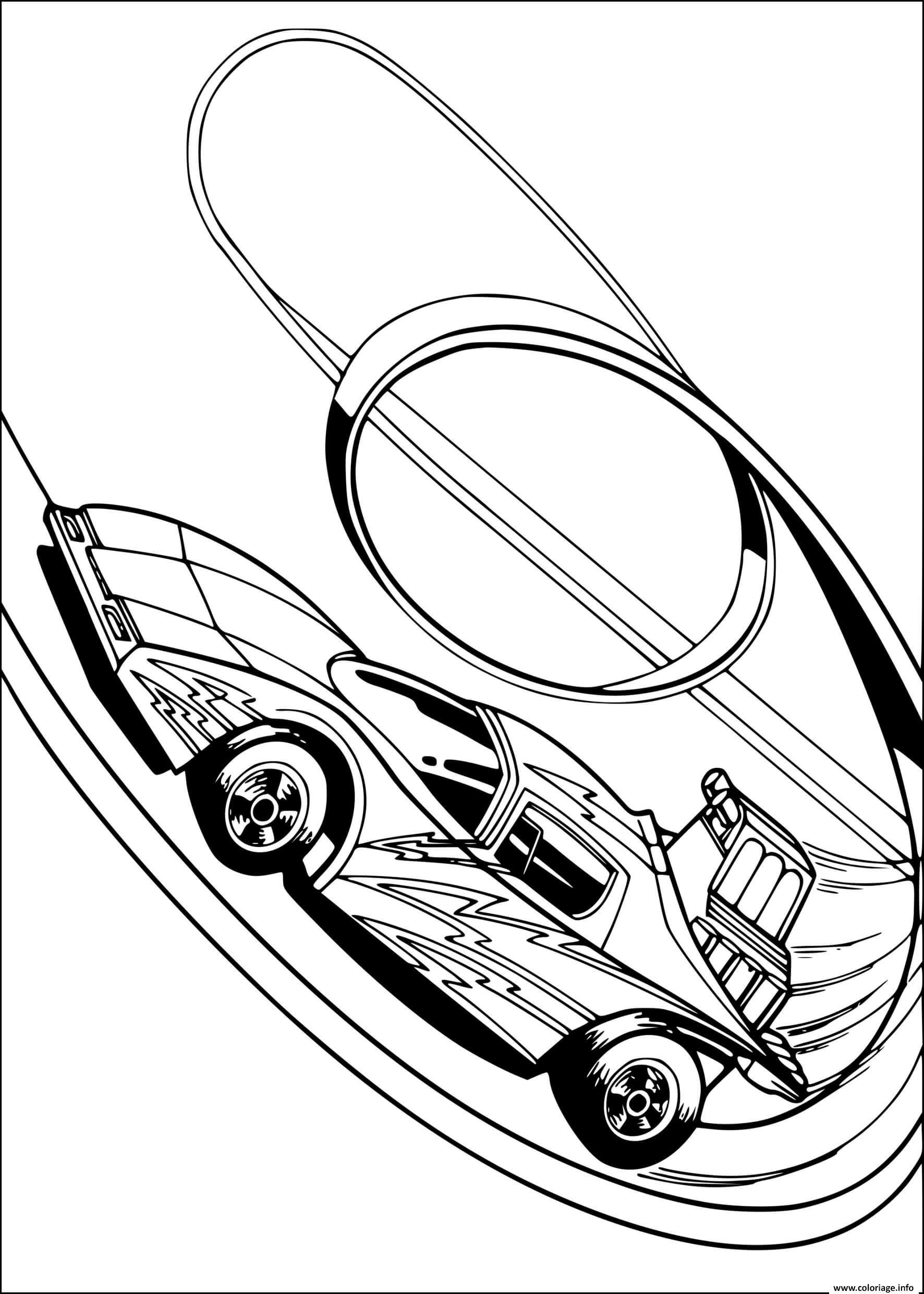 Dessin six shooter wheeled voiture Coloriage Gratuit à Imprimer