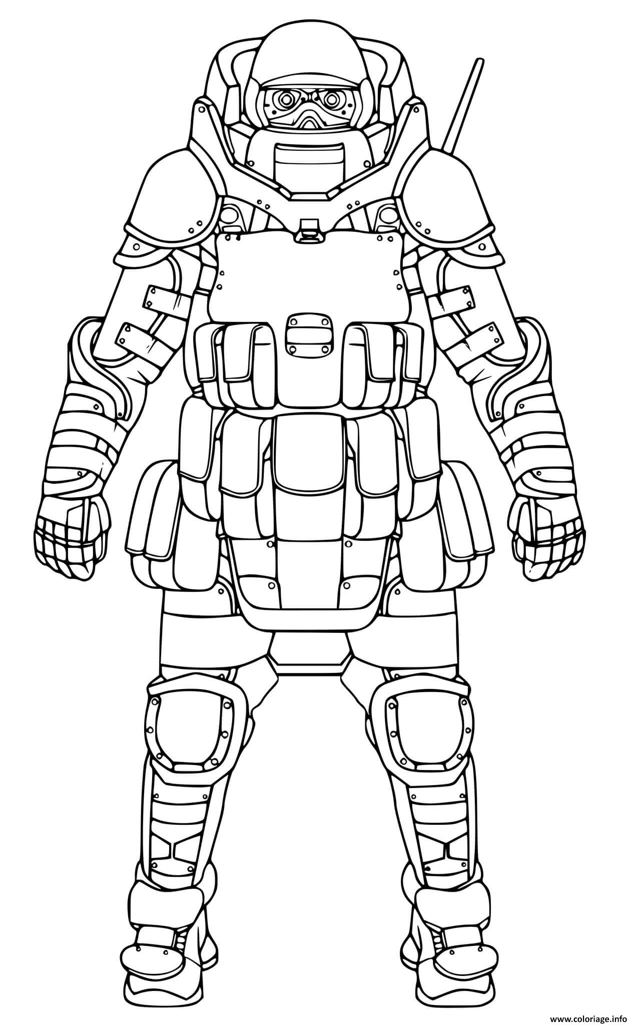 Coloriage call of duty black ops cold war - JeColorie.com