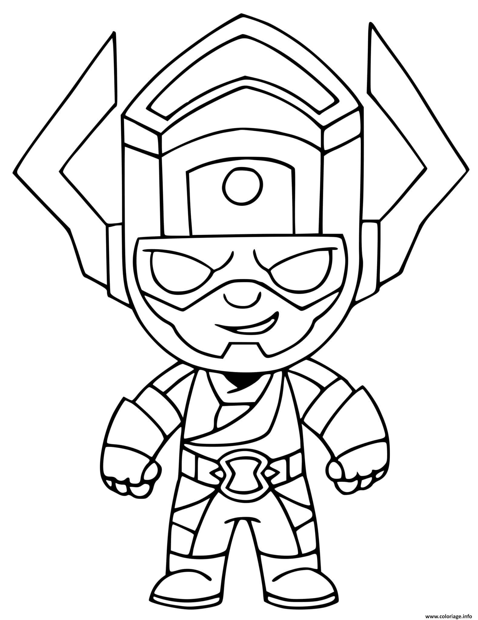 Dessin Galactus Fortnite Coloriage Gratuit à Imprimer