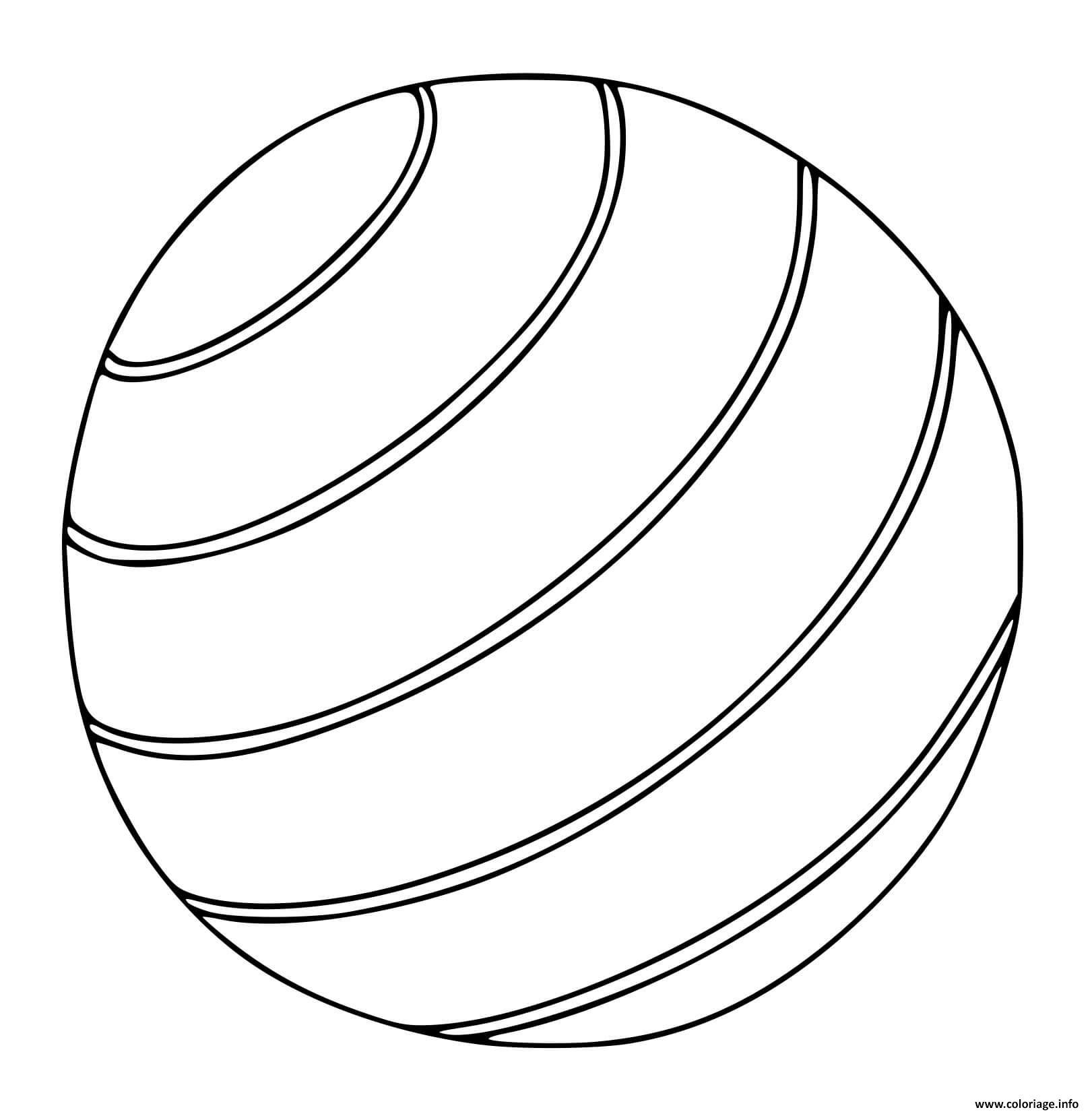 Dessin ballon Coloriage Gratuit à Imprimer