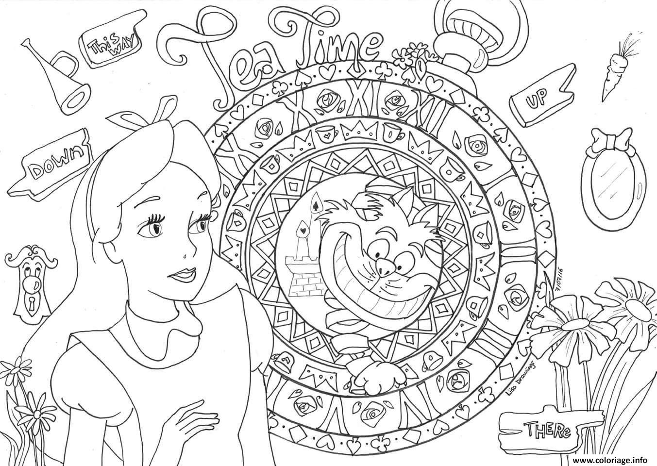 Coloriage Princesse Cendrillon Disney Adulte Dessin Disney Adulte ...