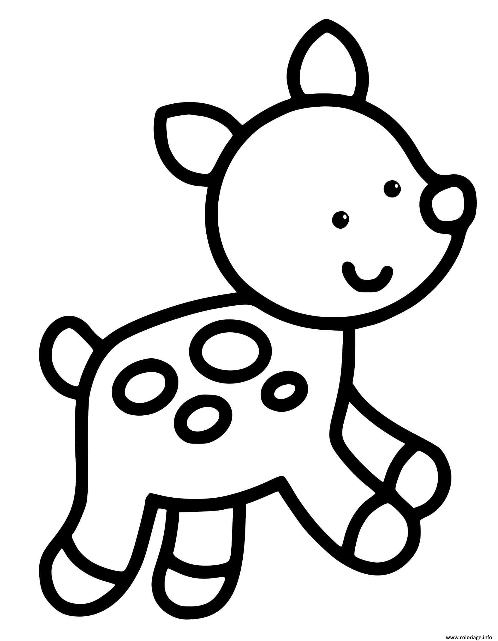 Coloriage Animal Facile Maternelle 32 Ans Dessin Facile à imprimer