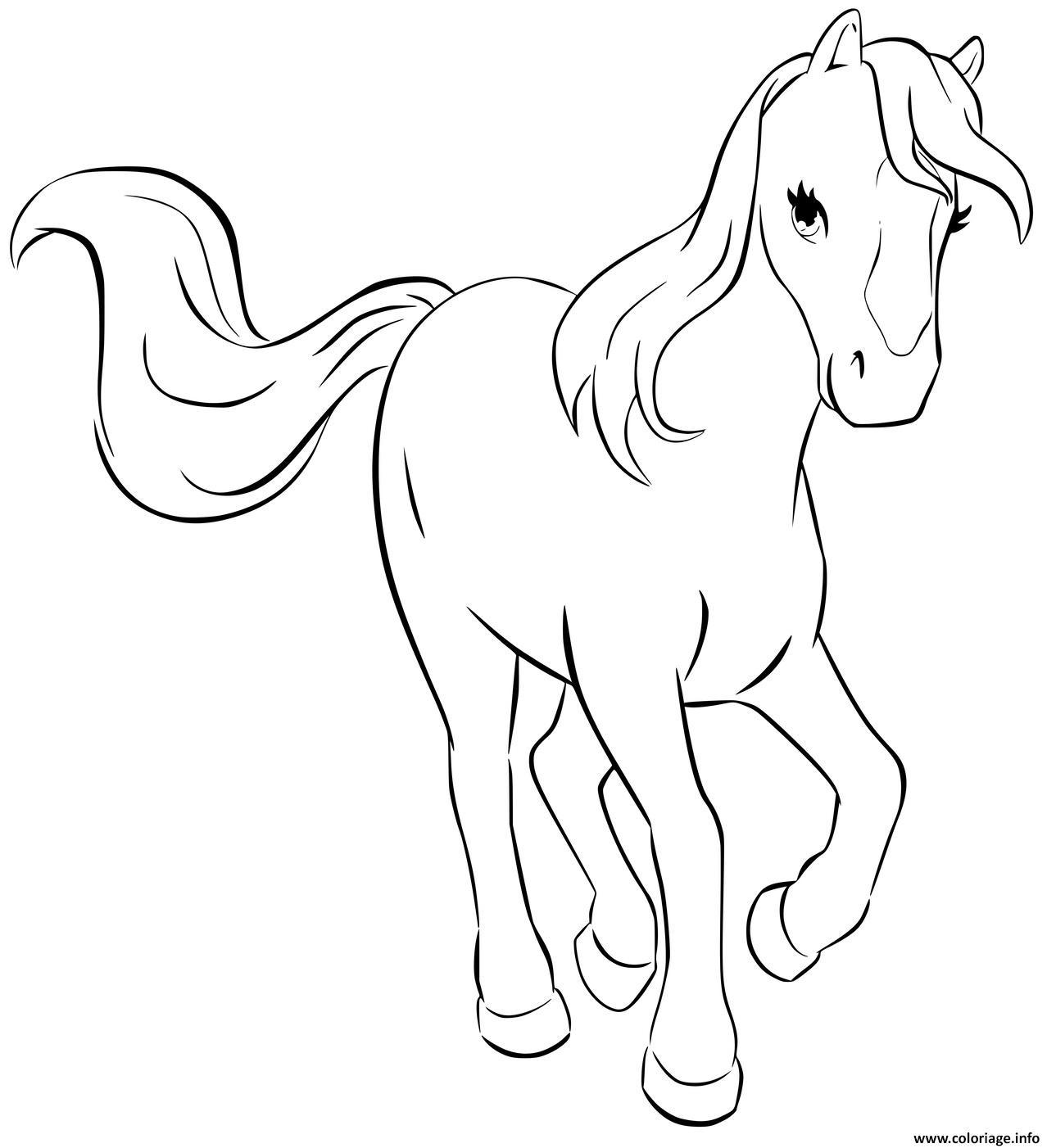Dessin lego friends cheval Coloriage Gratuit à Imprimer