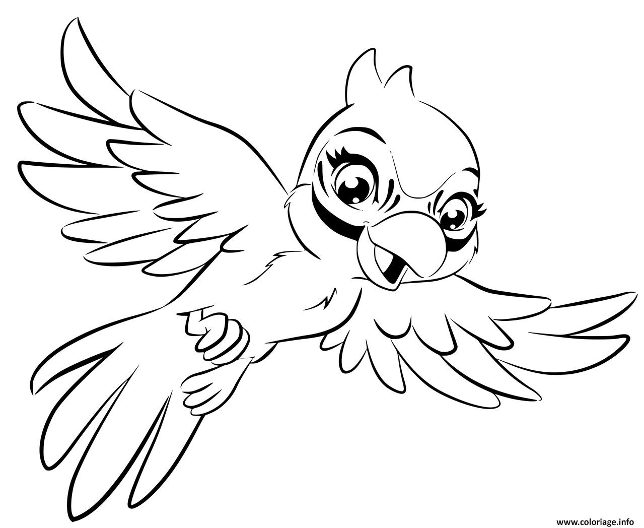 Dessin lego friends perroquet Coloriage Gratuit à Imprimer