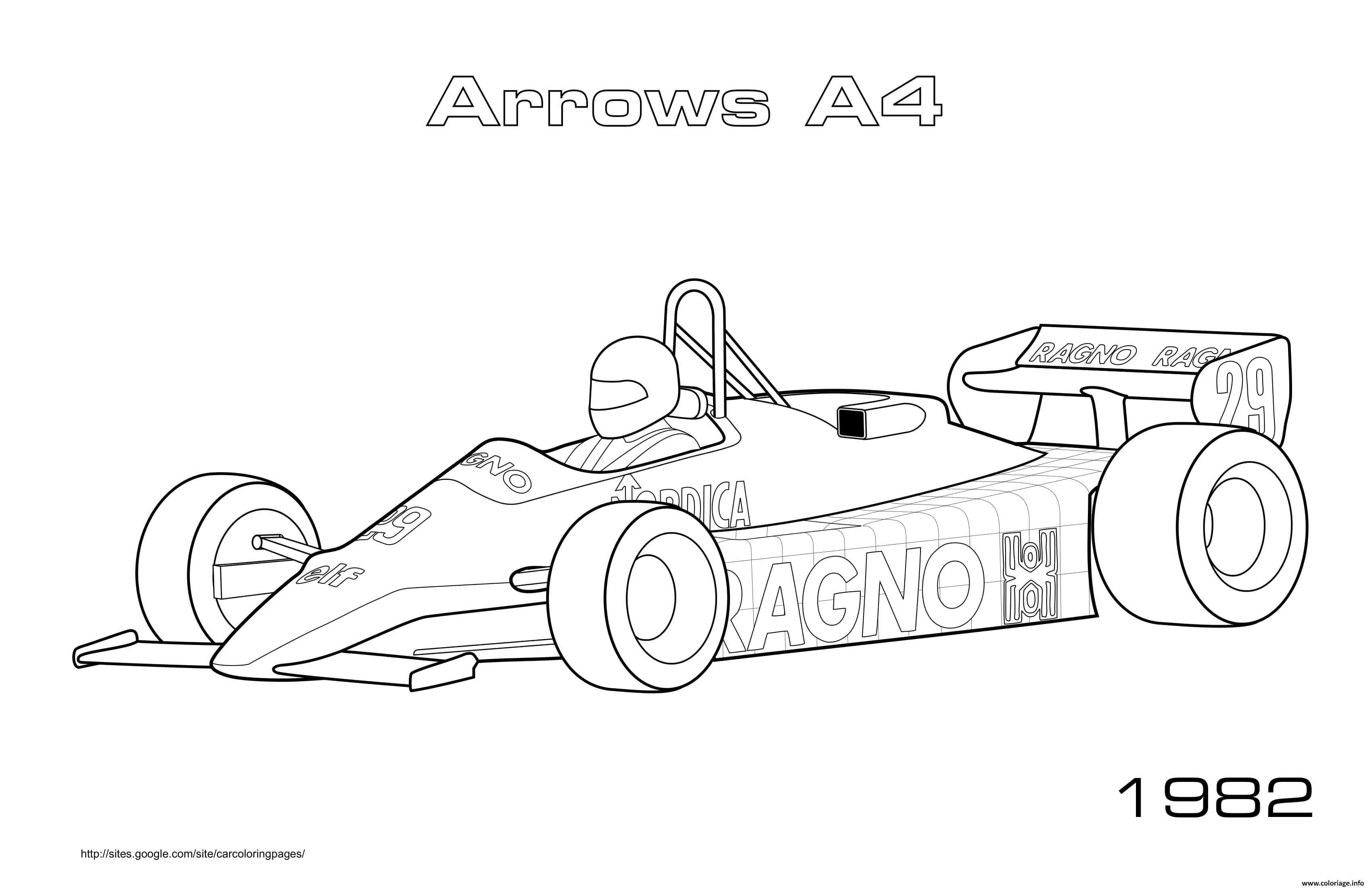 Dessin Arrows A4 1982 Coloriage Gratuit à Imprimer