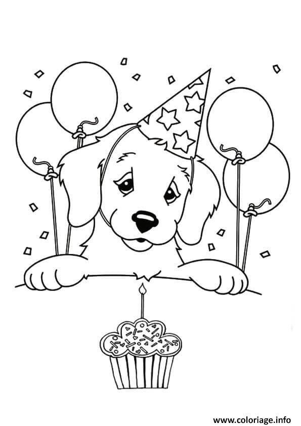 Dessin joyeux anniversaire maman Coloriage Gratuit à Imprimer