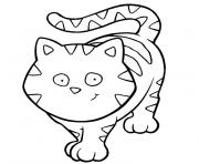 Coloriage animaux chat