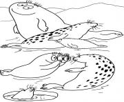 barbidou ami des animaux dessin à colorier