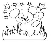 Coloriage simple animaux