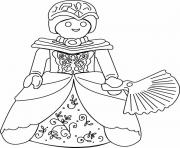 Coloriage playmobil princesse