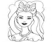Coloriage barbie girl