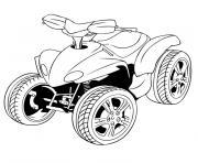 quad de ben 10 dessin à colorier