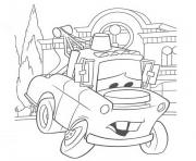 Coloriage cars martin