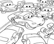 cars walt disney dessin à colorier