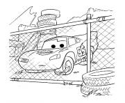 Coloriage cars mcqueen