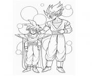 Coloriage dragon ball z et gt