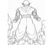 Coloriage dragon ball z petit coeur