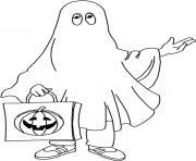 halloween anglais dessin à colorier