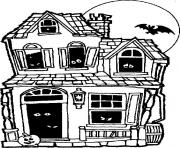 halloween halloween dessin à colorier
