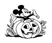 halloween heros dessin à colorier