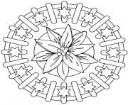 Coloriage mandalas to download for free 16  dessin