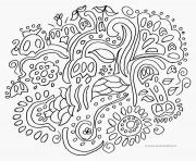 Coloriage mandala cm1 dessin