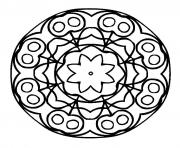 Coloriage mandalas to download for free 19  dessin
