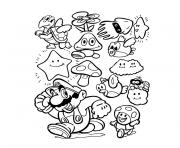 Coloriage mario party 8