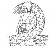 Coloriage naruto colorier