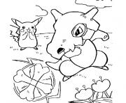 Coloriage pokemon silver
