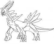 Coloriage pokemon zarbi dessin
