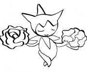 Coloriage pokemon 035 clefairy 2 dessin