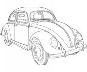 Coloriage dessin voiture de luxe dessin - Coloriage coccinelle voiture ...