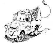 image voiture cars dessin à colorier